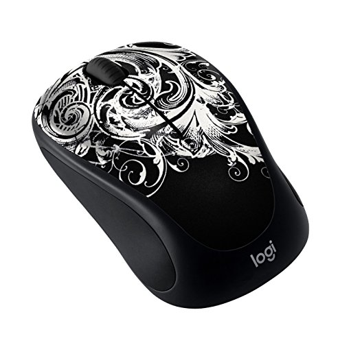 Logitech M317 Wireless Mouse - Dark Fleur (910-005436)