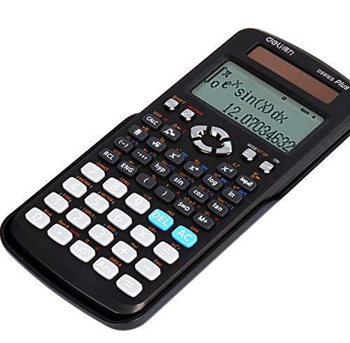 TL Taschenrechner, Funktion Dual-Funktions-Display Leistungsberechnung Schutzabdeckung, Für Home-Office-Schiebe-, Schwarz