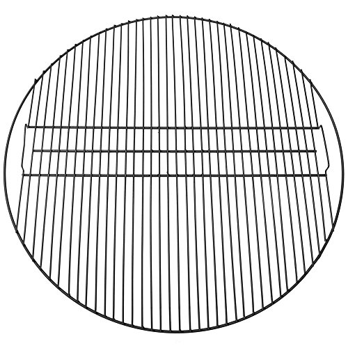 Sunnydaze Fire Pit Cooking Grill Grate - Outdoor Campfire BBQ - Heavy-Duty 33-Pound Capacity - Round Black 40-Inch Cooking Rack - Outdoor Campfire Use - Fire Pit Accessory