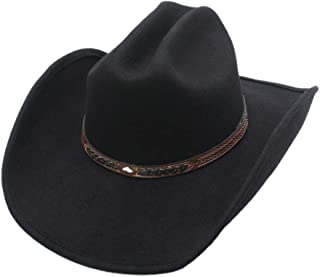 Shapeable Cattleman Cowboy Western Wool Hat, Silver Canyon