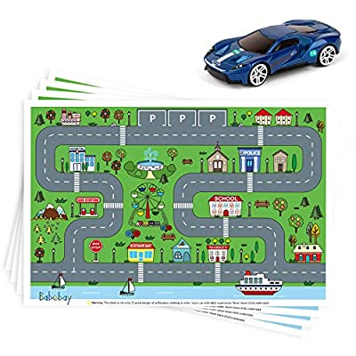 Disposable Stick-on Placemats 40 Pack for Baby ...