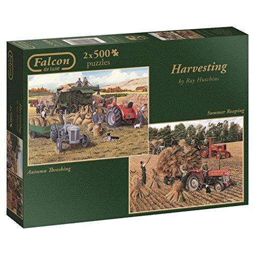 Jumbo - Puzzle Harvesting, 2 x 500 Piezas (611124)