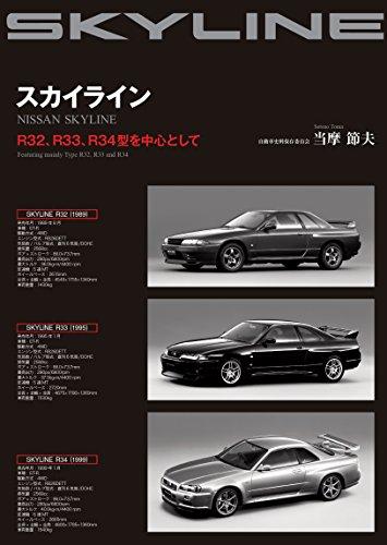 スカイライン―R32、R33、R34型を中心として