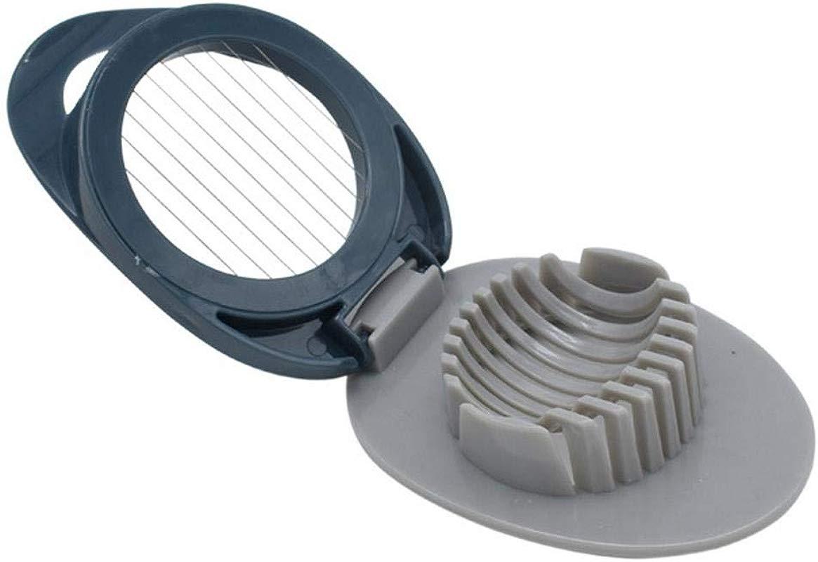 Bobody Egg Cutter Multipurpose Stainless Steel Wire Egg Slicer