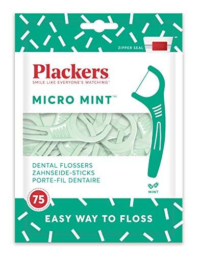 Plackers Zahnseide, Mint, 75 Stück