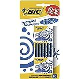 Pack de 60cartuchos cortos universales azul BIC