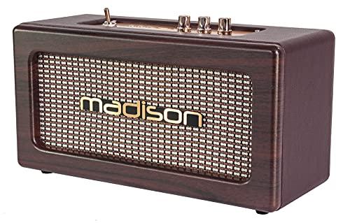Madison 10-7086 FREESOUND-VINTAGE-WD Enceinte Bluetooth Portable