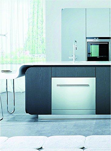 Lave-vaisselle compact Plados – 6 couverts – Efficacité à + Con porta e maniglia Acciaio Inox