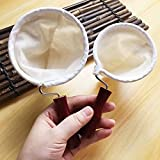 Filtro de filtro de tela de té de café, filtro de té de café Bolsa de calcetín Filtro de café Filtro de té de Tailandia Bolsa de filtro de jugo de té de leche Bolsa de filtro de té de café
