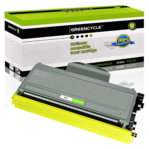 GREENCYCLE 2600 Pages per Toner Cartridge Replacement Compatible for Brother TN360 TN-360 TN330 TN-330 Used in HL-2170W HL-2150N DCP-7045N DCP-7040 MFC-7840W MFC-7340 MFC-7345N (Black, 1-Pack)