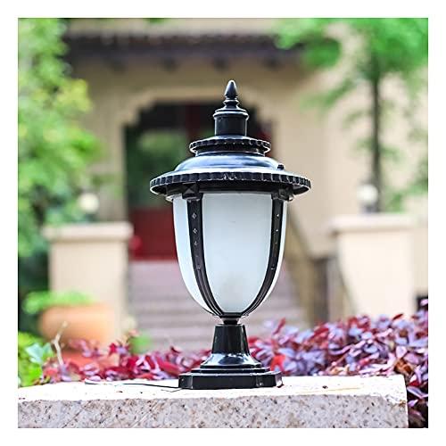 GAOJINXIURZ Solar Pfostenleuchten LED Solar Pfosten Kappe Lichter Outdoor Garten Lampe, Warmweiß Pfosten Säule Lampe, IP55 Wasserdicht Moderne Pfostenlaterne Für Terrasse Zaun Villa Tor Säule