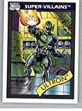 1990 Impel Marvel Universe #61 Ultron Non Sport Entertainment Trading Card in Raw (NM or Better) Condition