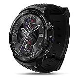 Zeblaze H-sunshy Bluetooth Smartwatch Pantalla táctil Reloj de Pulsera , Nuevo Thor Pro 3G GPS Smartwatch , Reloj súper Ligero Smart Thor Pro Reloj Ice Smartwatch-Shadow