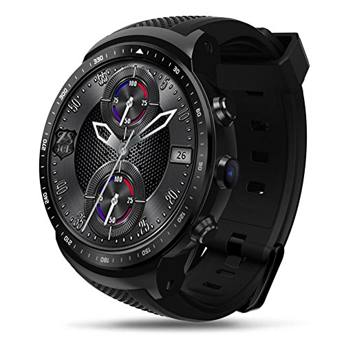 Libertey Zebraze Thor PRO Smart Watch, Orologio GPS con Posizionamento Globale, modalità Multi-Sport, Supporto per Foto/Chiamata, Compatibile con iPhone/Android, Adatto per Il Business, Lo Sport
