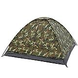 CamoOutdoor Tente Igloo Mil-tec- Standard 3 Personnes, Camouflage Flecktarn