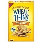 Wheat Thins Original Whole Grain Wheat Crackers, 9.1 oz