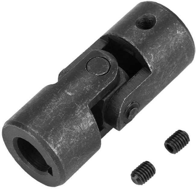 Shaft Coupler Max 74% OFF 14mm Today's only to 28mm Universal Black Steerin Round Single