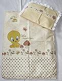 Rawstyle 4 tlg. Babybettwäsche-Set *33 MOTIVE* Garnitur Kinderbettwäsche Bettwäsche 70x50 cm **Decke + Kissen + Füllung** (Disney Beige)