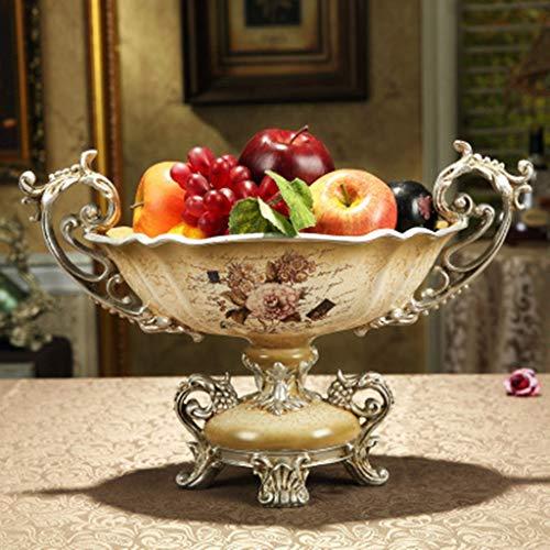 Corbeille de Fruits Cristal Bol À Fruits en Verre, Plateau De Fruits Secs Style européenpour Les utilisations Quotidiennes ou Cadeaux PlateauPlateau à Dessert Assiette de Fruits (Color : C)