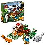 LEGO Minecraft - La Aventura en la Taiga, Set de Construcción...