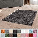 Taracarpet Hochflor Langflor Shaggy Teppich geeignet für Wohnzimmer Kinderzimmer und Schlafzimmer...