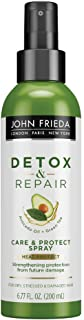 John Frieda Detox and Repair Care & Heat Protect Spray, Styling Spray for Dry and Tangled Hair, 200 ml
