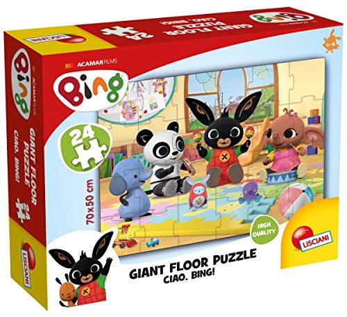 Bing 74716 Giant Floor 24 Ciao Puzzle, Multicolore