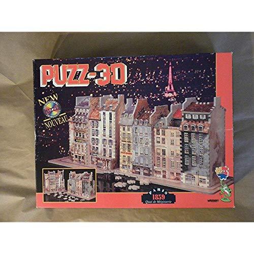 Puzz 3D: Paris 1859: Quai de Megisserie by Wrebbit