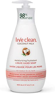 live clean coconut milk hand soap