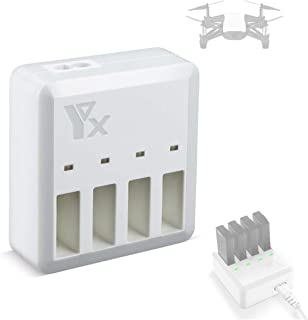 Powerextra DJI Telloバッテリー充電器 電池急速充電器