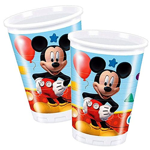 Mickey Mouse Tasse   8 Pièces   Disney Enfants Party & Anniversaire