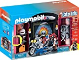 PLAYMOBIL 9108 Stadtleben Bike Shop Play Box - Caja de música, Multicolor
