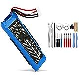 CELLONIC® Batería de Repuesto GSP872693 01 Compatible con JBL Flip 4, Flip 4 Special Edition, 3000mAh + Juego de Destornilladores GSP872693 01 Accu Altavoz, Speaker Battery