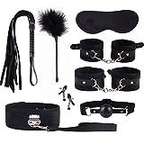 Ropa deportiva suave y cómoda Kit de accesorios 8 piezas Negro