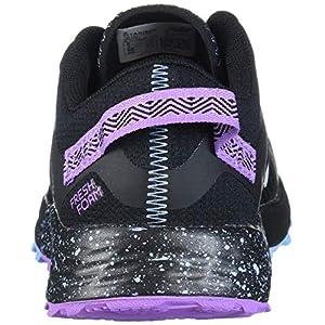 New Balance Women's Fresh Foam Arishi Trail V1 Running Shoe, Black/Purple/NEO Violet, 10 D US