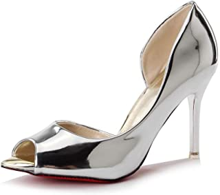 BalaMasa Womens ASL06498 Microfiber Fashion Sandals