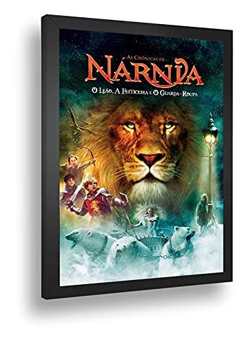 Quadro Decorativo Poste As Cronicas De Narnia Fantasia Retro