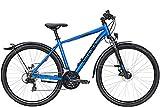 BULLS Wildcross Street 28 Zoll Herrenfahrrad Crossrad 2021, Farbe:blau, Rahmenhöhe:58 cm