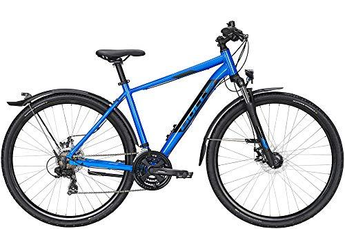Bulls Wildcross Street 28 Zoll Herrenfahrrad Crossrad 2021, Farbe:blau, Rahmenhöhe:61 cm