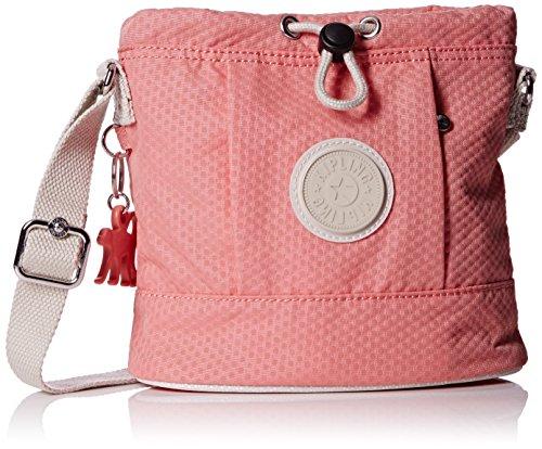 Kipling Damen DALILA S Schultertasche, Mehrfarbig (Dots Shell Pink Q29), 19.5x19.5x9 cm