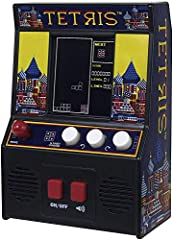 RETRO PLAY Authentic 80's graphics, sounds and game play AUTHENTIC Joy stick control, graphics and sounds make the game play as exciting as the original! NEW Brighter Screen for enhanced gameplay! INCLUDES 3 AA batteries for immediate play! Age: 8+ S...