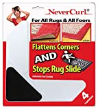 Grips The Rug with Nevercurl Includes 4' V Shape Corners with EVA Foam Tip for...
