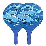 Jiawu Beach Paddles Ball Racket, Multifunzionale Beach Ball Paddle Pagaia da Spiaggia Racchetta da Beach Volley Leggera Racchetta da Beach Tennis per Il Cortile per la Spiaggia