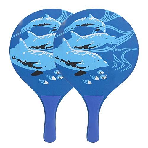 CUEA Beach Paddles Ballschläger, Beach Ball Paddles Beachball Paddles Beach Tennis Schläger Multifunktionaler Beach Ball Schläger für den Garten