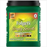 Fresh Taste of Folgers Coffee, Simply Smooth Decaf, Gentle on Your Stomach, 11.5 Oz Canister - (3 pk)