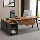 Tribesigns L-Shaped Desk, Large Executive Office Desk...