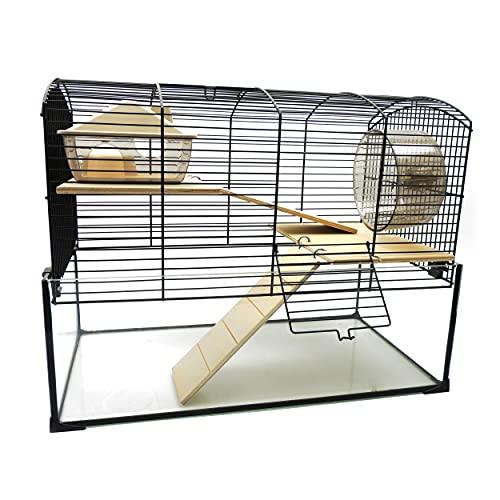 Little Friends Mayfair Cage avec Accessoires pour rongeurs 51,5 x 38 x 40 cm