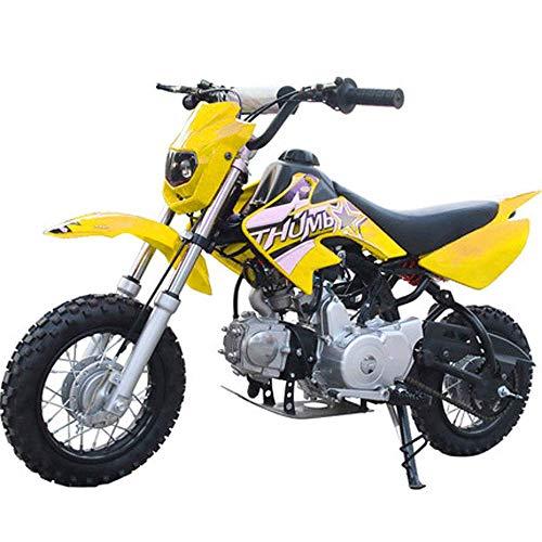 90GJ Mountain Off-Road-Motorrad kleinen Mini 125CC Zweirad hohe Rennmotorrad gelb Geländefahren