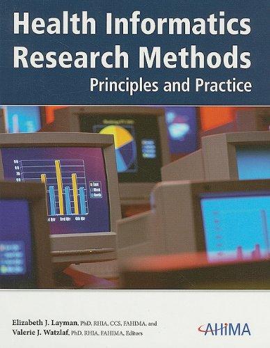 Health Informatics Research Methods: Principles and Practice