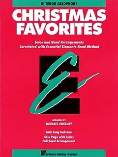 Essential Elements Christmas Favorites: Bb Tenor Saxophone